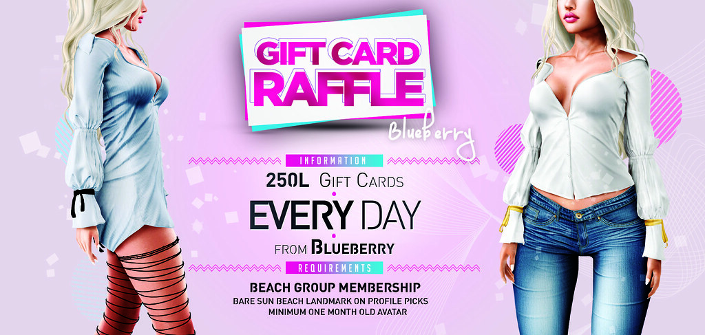 Blueberry Gift Card Raffle