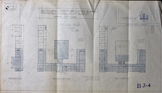 Auckland Grammar School plan (May 1920)