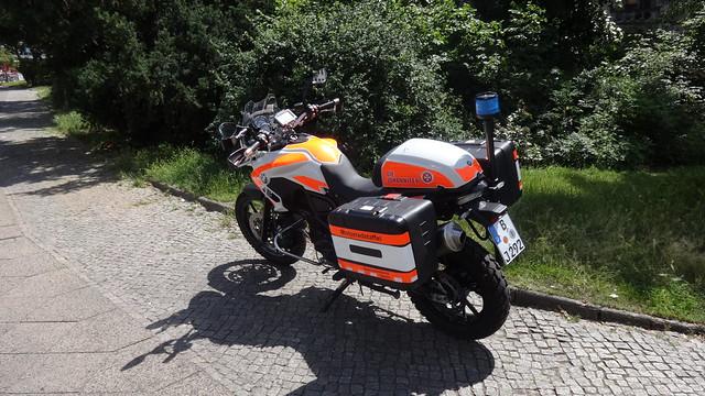 2018 Allround-Enduro-Motorrad F750GS von BMW der Johanniter Südstern in 10961 Berlin-Kreuzberg