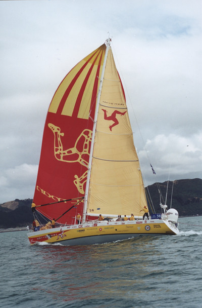Isle of Man, BT Global Challenge, 2000-2001