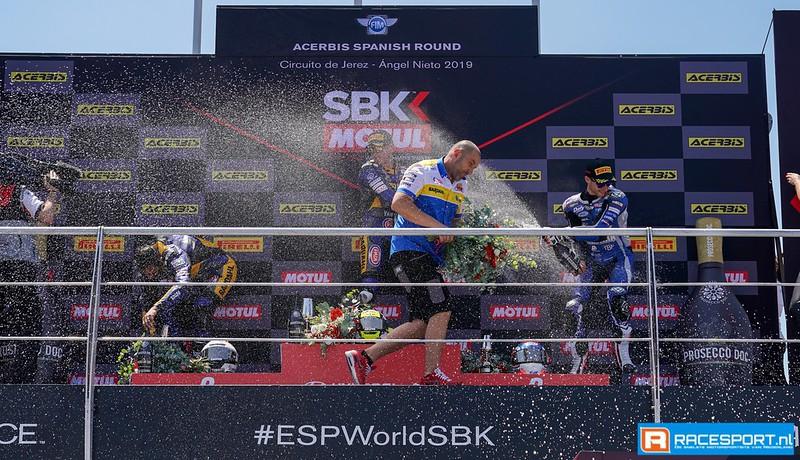 Champagne SSP600 podium