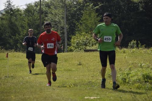 Intxixu Trail 2019, erdialdean