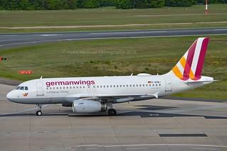 Germanwings D-AGWJ Airbus A319-132 cn/3375 @ EDDK / CGN 02-05-2018