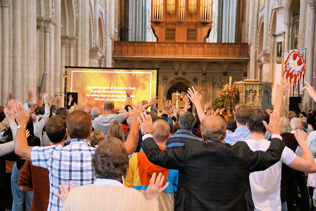 Thy Kingdom Come, Pentecost Norwich June 2019