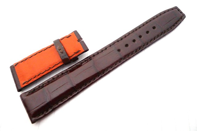 20/18 135/55 LVMH Patina Brown Hand-stitched