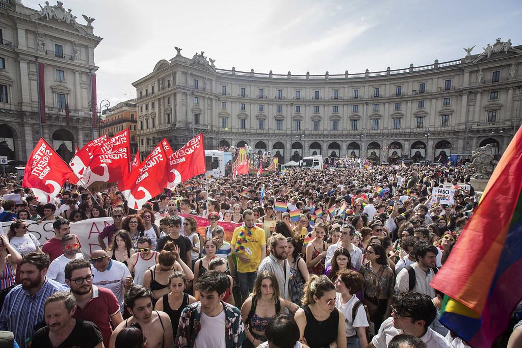 Roma Pride 2019 #ContratTiAmoDiritti