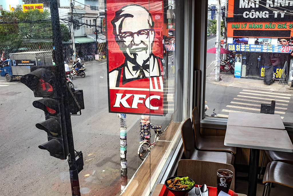KFC on Ba Hom--Saigon