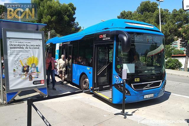 Bus Güell, Barcelona