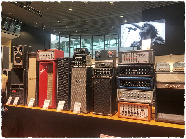Vintage P.A.-Systems ( (Vintage Show Frankfurt II) from the sixties
