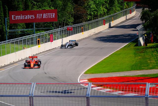 Sunday action at Circuit Gilles Villeneuve