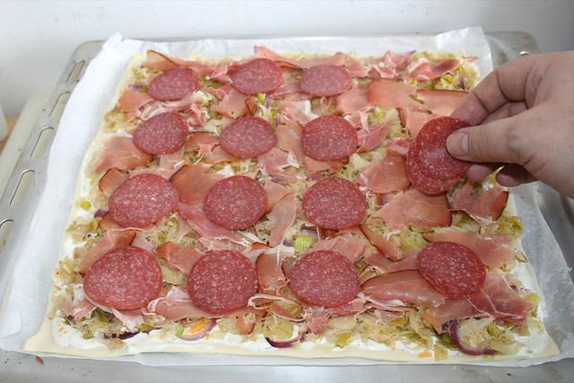 25 - Salami hinzufügen / Add salami