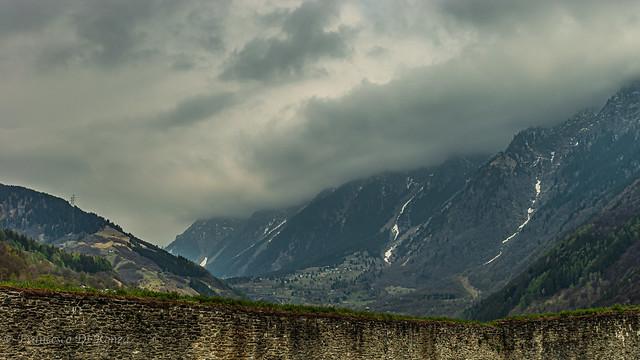 mountain landscape Mesocco 1.)1094-4328