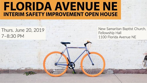 DDOT Florida Avenue NE Interim Safety Improvement Open House 6/20