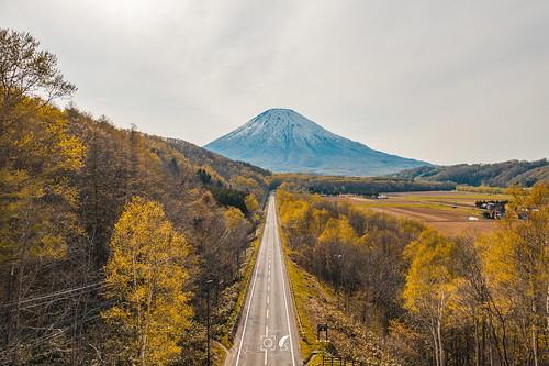 向遠方:羊蹄山│喜茂別町│Hokkaido   Nick Ning Huang   Flickr