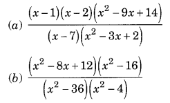 Factorisation Class 8 Extra Questions Maths Chapter 14 Q13