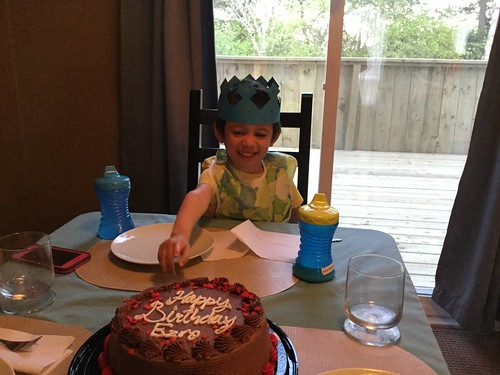 Ezra's Third Birthday