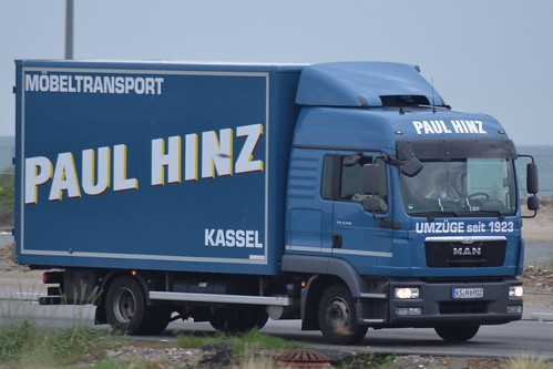 MAN TGL 8.220 - Paul Hinz Möbeltransport  Kassel - D  KS  H 6902