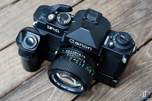 Canon New F-1 | by Luis TAPPA