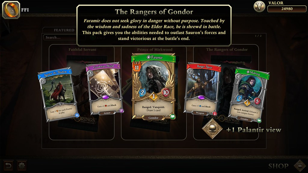 The Lord of the Ring: Adventure Card Game