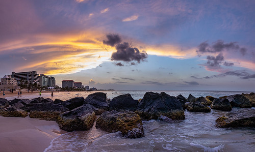 bigvern canon 7dii beach water sunset panorama