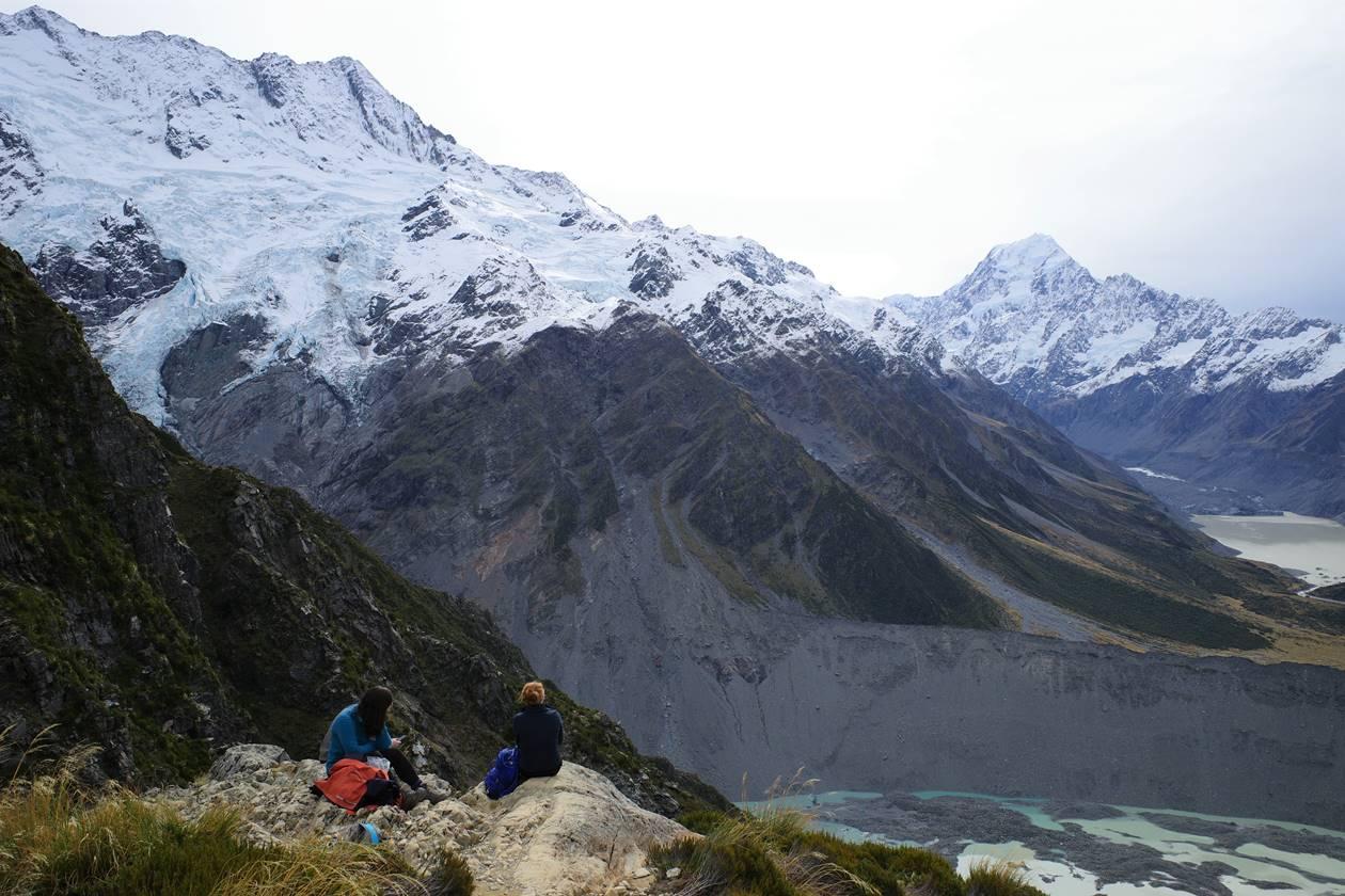 ニュージーランド・セアリーターンズトラック登山