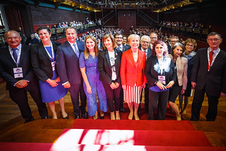05/06/2019 - 16:28 - EU-OSHA and its extensive network of partners celebrated in Bilbao on 5 June their joint efforts over the past 25 years for safer and healthier European workplaces.  photo: © EU-OSHA / Fernando Aramburu Garrido