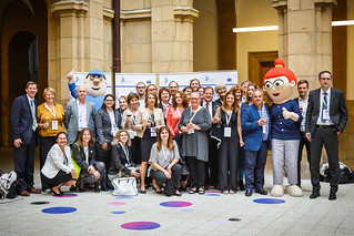 05/06/2019 - 18:43 - EU-OSHA and its extensive network of partners celebrated in Bilbao on 5 June their joint efforts over the past 25 years for safer and healthier European workplaces.  photo: © EU-OSHA / Fernando Aramburu Garrido