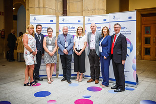 05/06/2019 - 18:53 - EU-OSHA and its extensive network of partners celebrated in Bilbao on 5 June their joint efforts over the past 25 years for safer and healthier European workplaces.  photo: © EU-OSHA / Fernando Aramburu Garrido