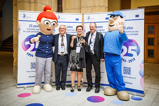 05/06/2019 - 18:55 - EU-OSHA and its extensive network of partners celebrated in Bilbao on 5 June their joint efforts over the past 25 years for safer and healthier European workplaces.  photo: © EU-OSHA / Fernando Aramburu Garrido