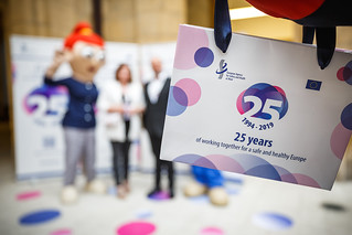 05/06/2019 - 18:56 - EU-OSHA and its extensive network of partners celebrated in Bilbao on 5 June their joint efforts over the past 25 years for safer and healthier European workplaces.  photo: © EU-OSHA / Fernando Aramburu Garrido