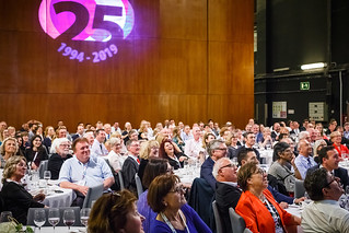 05/06/2019 - 22:14 - EU-OSHA and its extensive network of partners celebrated in Bilbao on 5 June their joint efforts over the past 25 years for safer and healthier European workplaces.  photo: © EU-OSHA / Fernando Aramburu Garrido