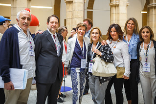 05/06/2019 - 14:57 - EU-OSHA and its extensive network of partners celebrated in Bilbao on 5 June their joint efforts over the past 25 years for safer and healthier European workplaces.  photo: © EU-OSHA / Fernando Aramburu Garrido