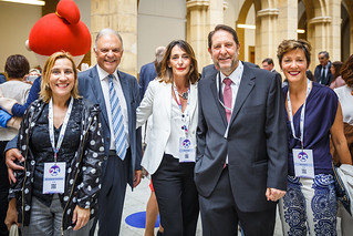 05/06/2019 - 14:58 - EU-OSHA and its extensive network of partners celebrated in Bilbao on 5 June their joint efforts over the past 25 years for safer and healthier European workplaces.  photo: © EU-OSHA / Fernando Aramburu Garrido