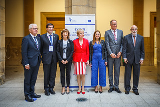 05/06/2019 - 15:15 - EU-OSHA and its extensive network of partners celebrated in Bilbao on 5 June their joint efforts over the past 25 years for safer and healthier European workplaces.  photo: © EU-OSHA / Fernando Aramburu Garrido