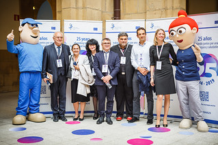 05/06/2019 - 16:51 - EU-OSHA and its extensive network of partners celebrated in Bilbao on 5 June their joint efforts over the past 25 years for safer and healthier European workplaces.  photo: © EU-OSHA / Fernando Aramburu Garrido