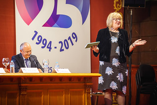 05/06/2019 - 17:13 - EU-OSHA and its extensive network of partners celebrated in Bilbao on 5 June their joint efforts over the past 25 years for safer and healthier European workplaces.  photo: © EU-OSHA / Fernando Aramburu Garrido