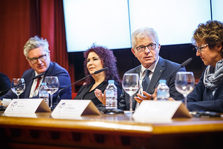 05/06/2019 - 18:16 - EU-OSHA and its extensive network of partners celebrated in Bilbao on 5 June their joint efforts over the past 25 years for safer and healthier European workplaces.  photo: © EU-OSHA / Fernando Aramburu Garrido