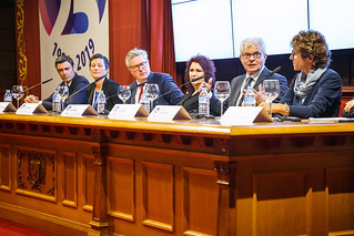 05/06/2019 - 18:19 - EU-OSHA and its extensive network of partners celebrated in Bilbao on 5 June their joint efforts over the past 25 years for safer and healthier European workplaces.  photo: © EU-OSHA / Fernando Aramburu Garrido