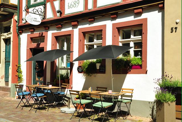 Juni 2019: Frühstück in Ladenburg mit kleinem Stadtbummel ... Foto: Brigitte Stolle