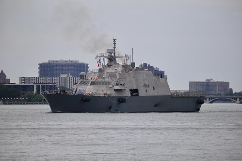 USS Billings LCS 15 on her delivery voyage to the U.S.Navy | by riverwatch81