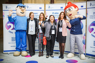 05/06/2019 - 16:48 - EU-OSHA and its extensive network of partners celebrated in Bilbao on 5 June their joint efforts over the past 25 years for safer and healthier European workplaces.  photo: © EU-OSHA / Fernando Aramburu Garrido