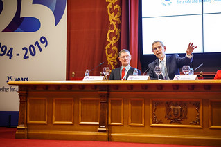 05/06/2019 - 17:31 - EU-OSHA and its extensive network of partners celebrated in Bilbao on 5 June their joint efforts over the past 25 years for safer and healthier European workplaces.  photo: © EU-OSHA / Fernando Aramburu Garrido