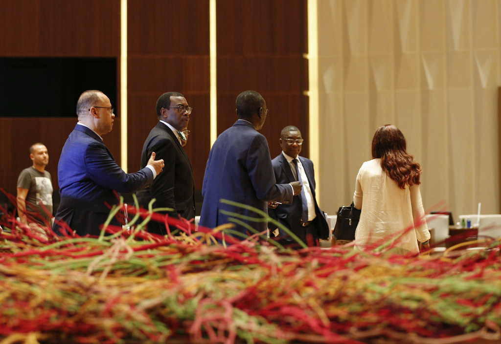 Malabo AfDB Annual Meetings - AfDB President Akinwumi Adesina Tours the Venue for the Annual Meetings