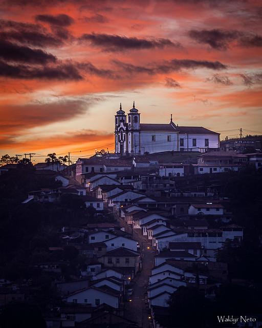 Amanhecer em Ouro Preto