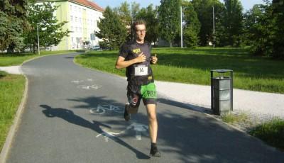 V Hradecké míli poprvé vyhrál Tomíček