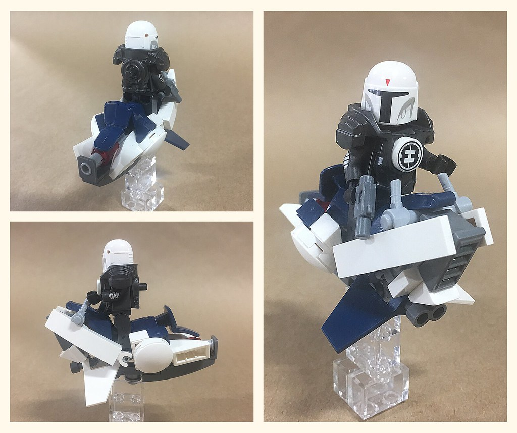 Old Republic and Mandalorian Speeders from https://flic.kr/p/2gbrQKT