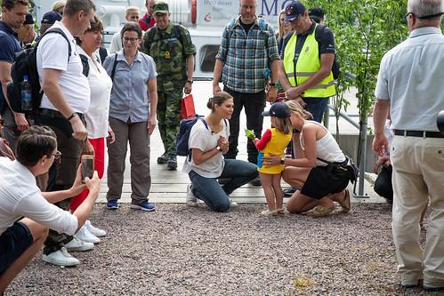 Fredagen den 7 juni 2019 besökte Kronprinsessan Gästrikland för sin 24:e landskapsvandring