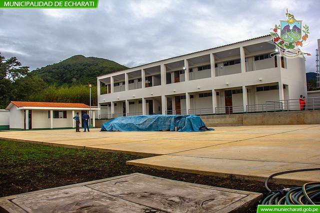 Niños de la institución educativa N° 50756 de San Antonio retornarán a su nueva infraestructura