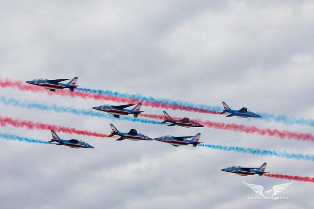 Precision flying - Patrouille de France