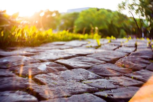Stone Sunset